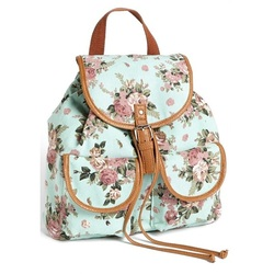 1ce5421ae813 Show your girly side with this gorgeous floral backpack from Nordstrom.  It s  44 but completely worth it because everyone will be asking you